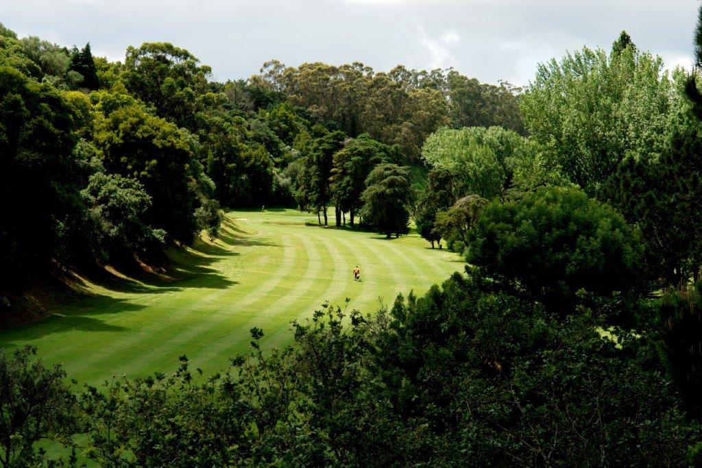 Fairway du  golf Lisbon Sports Club au Portugal