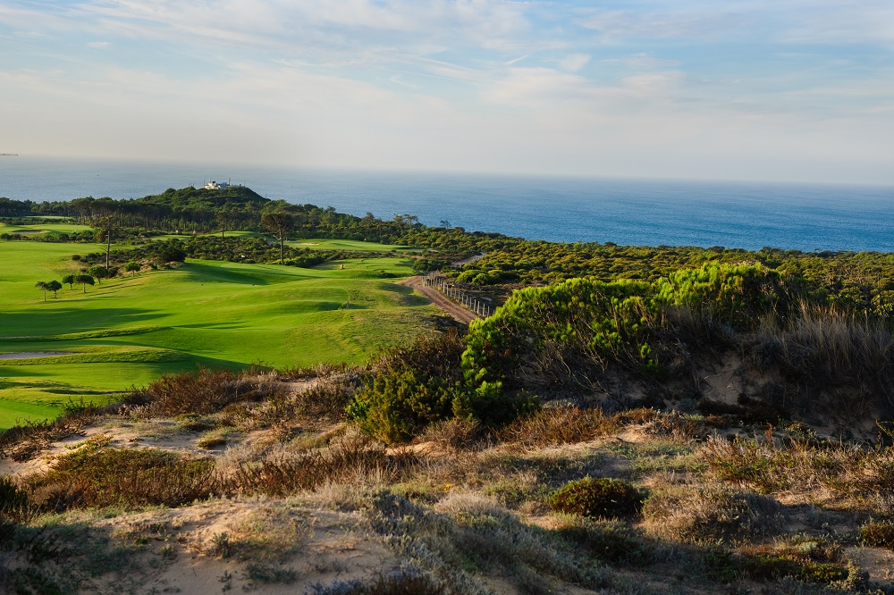 Le trou 11 du golf d'Oitavos.
