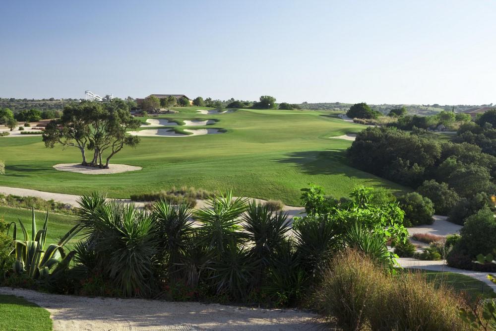 Un fairway du golf Océanico Faldo.