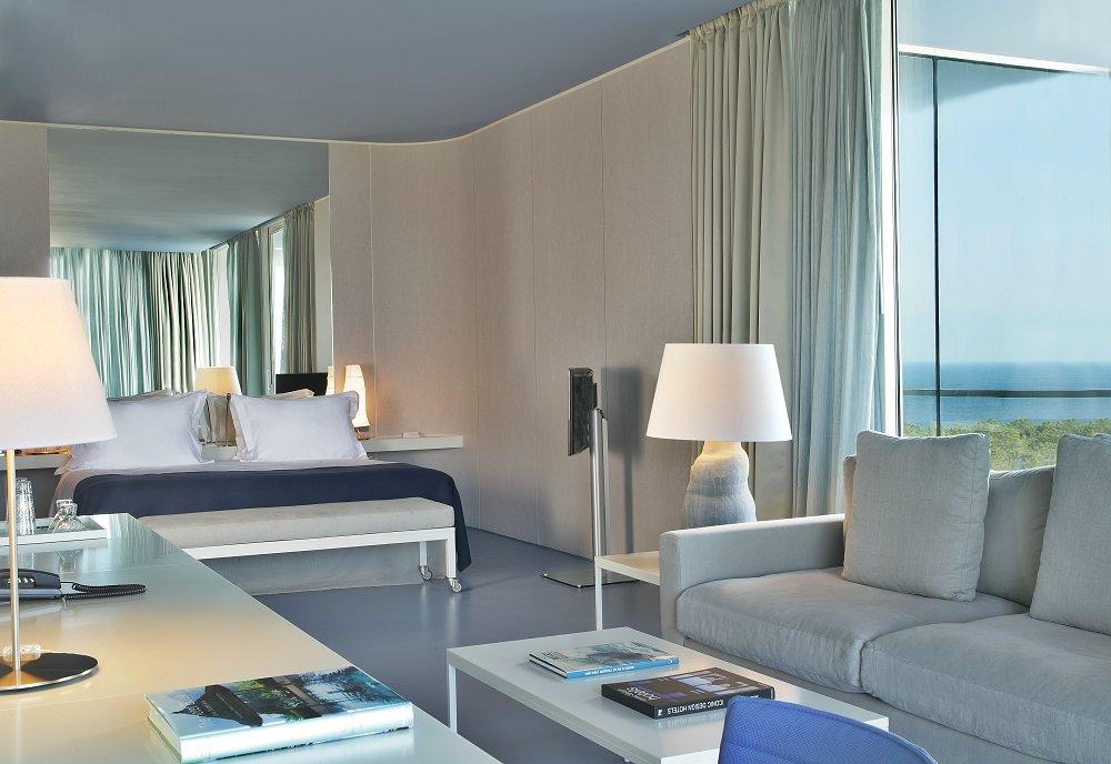 Une chambre de l'hôtel l'Oitavos.