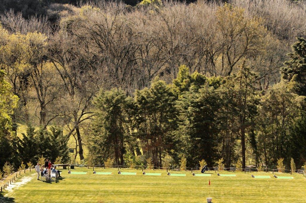 Driving Range du golf Lisbon Sports Club au Portugal