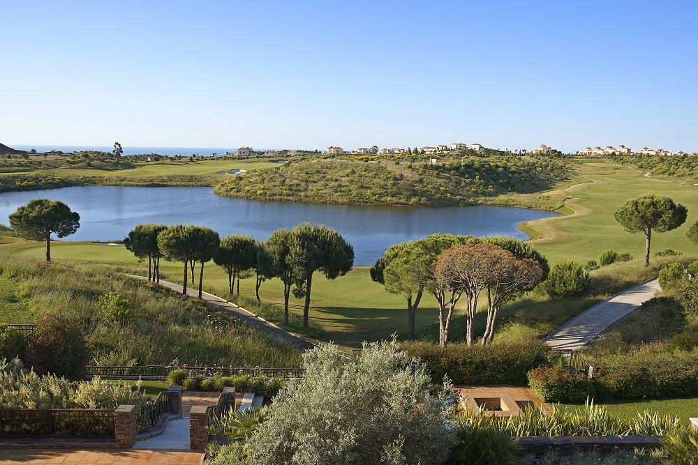 Le paysage du golf de Monte Rei. au Portugal