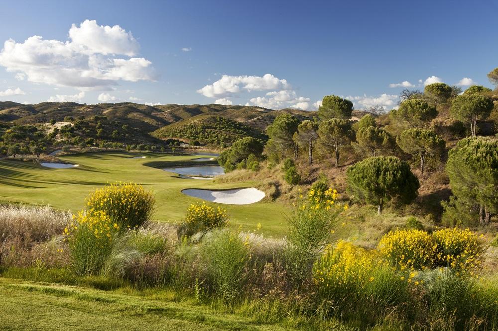 Le paysage du golf Monte Rei au Portugal