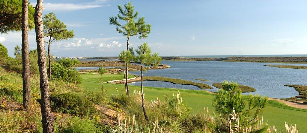 Trou 7 du golf de San Lorezo au Portugal