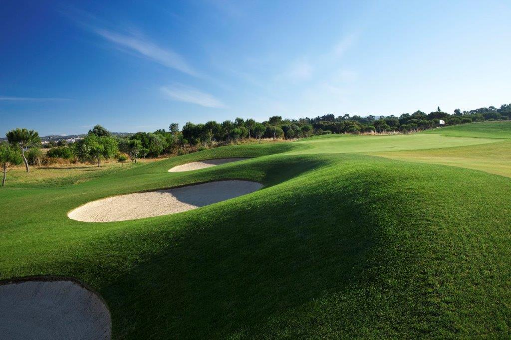 Bunker du golf d'Oceanico Victoria au Portugal