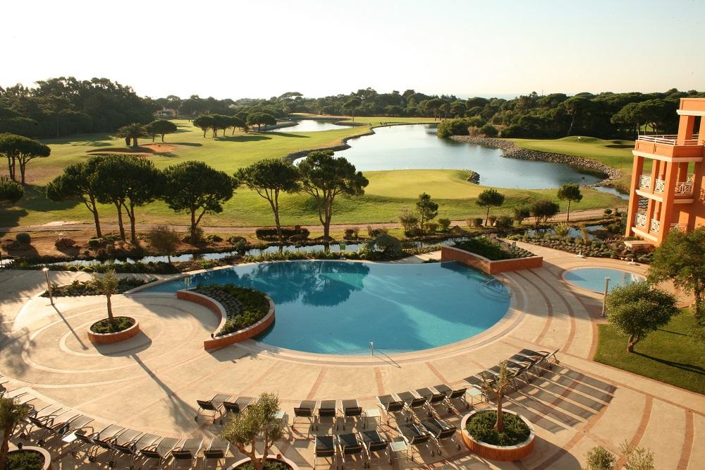 La piscine du golf golf Quinta Marinha.