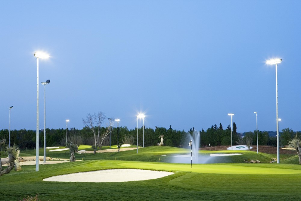 Une académie du golf Océanico.