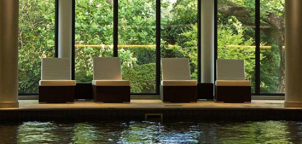 La piscine de l'hôtel Terra Nostra.