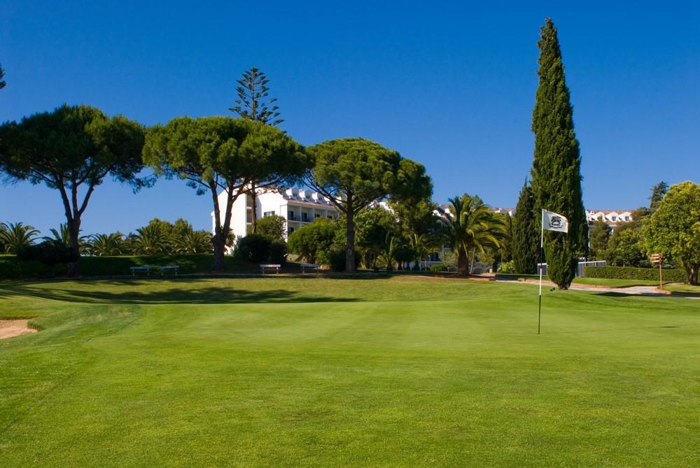 Palmier et Hotel du golf de Penina Championships au Portugal