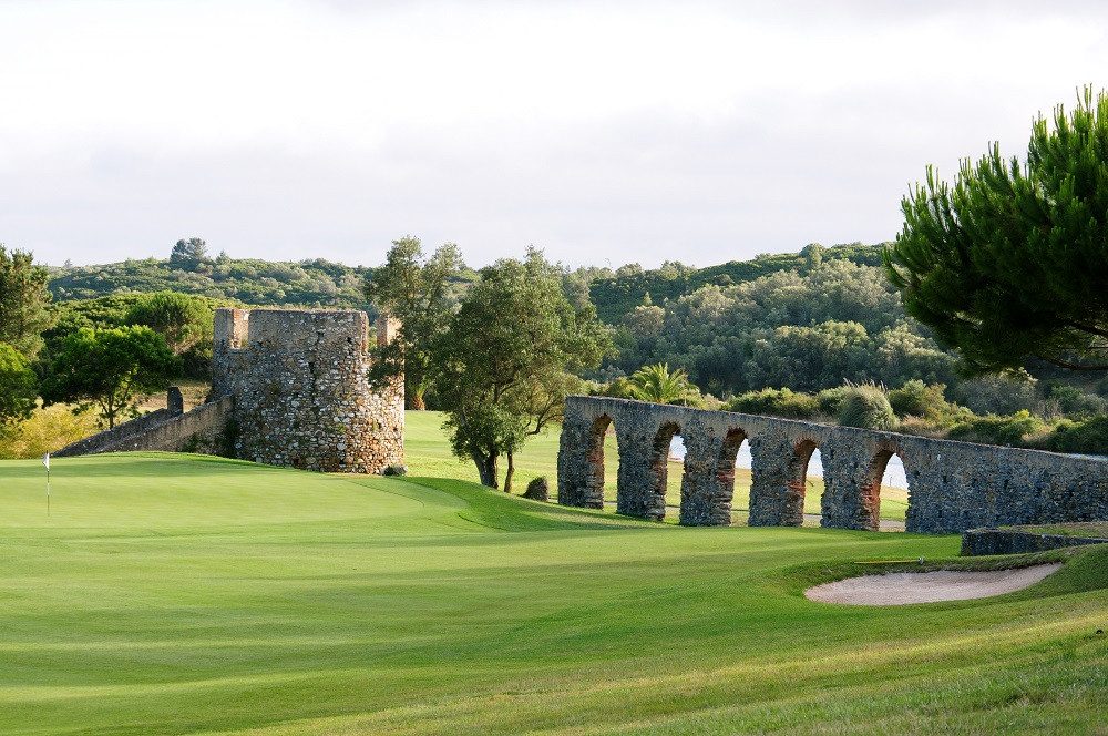 La forteresse du golf Penha Longa au Portugal