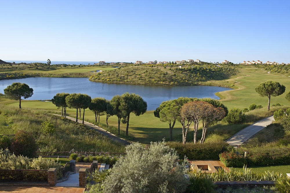 Le panorama du golf de Monte Rei.