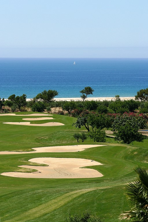 La vue du golf de Quinta da RIa.