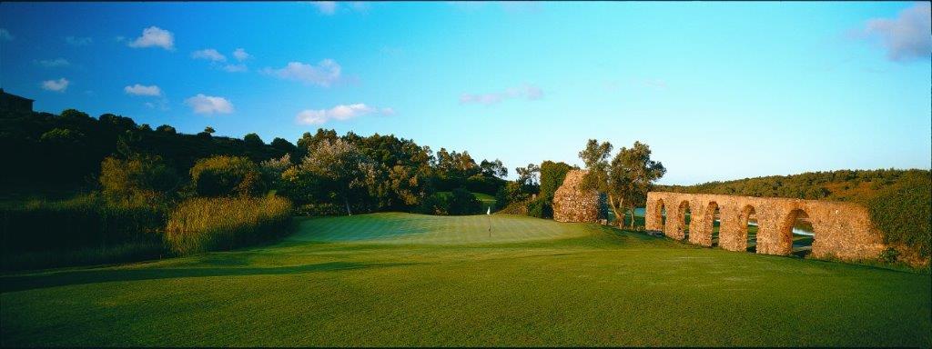 Green du golf de Penha Longa au Portugal