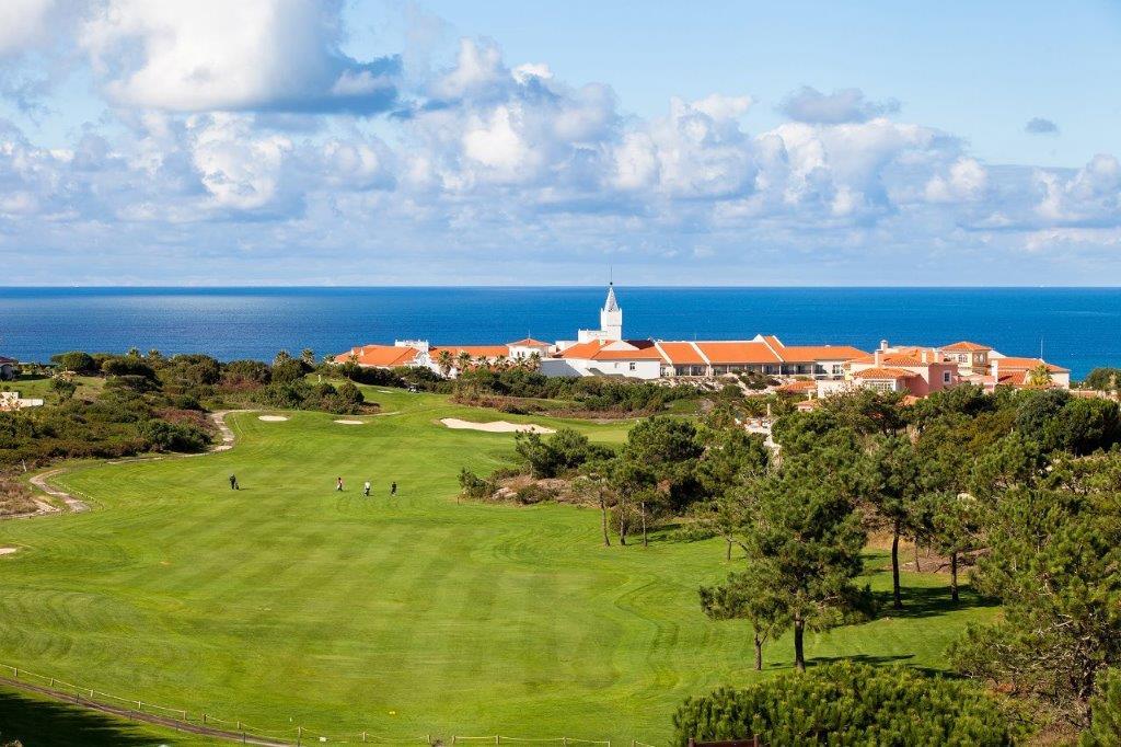 Village du golf de Praia del rey au Portugal