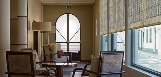 Le salon de l'hôtel Terra Nostra.