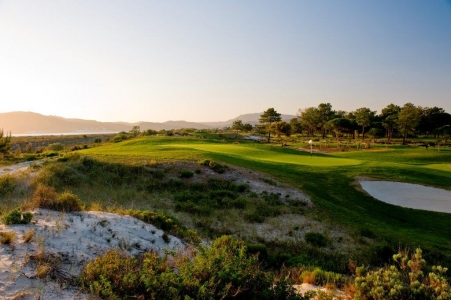 Rough du golf de Troia au Portugal