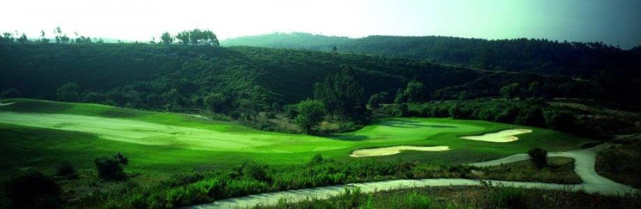 Panorama du golf de Bom Sucesso au Portugal