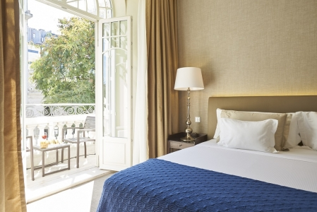 Une chambre de L'hôtel Porto Bay Liberdade.