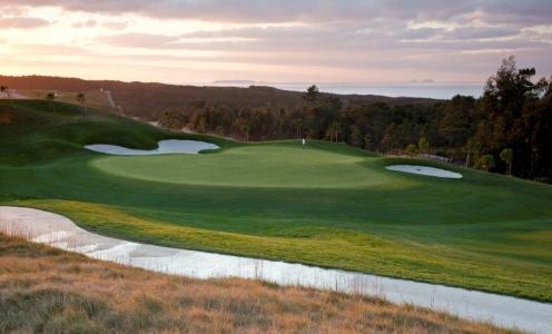 Green du golf Royal Obidos au portugal