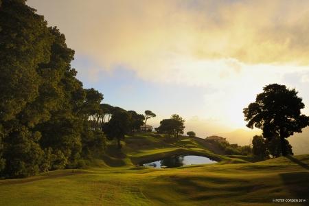 Le soleil du golf de Palheiro.
