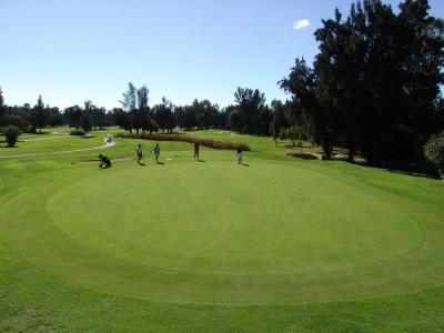 Un green du golf de Penina Championship au Portugal