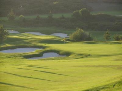 Green du golf de Belas au Portugal