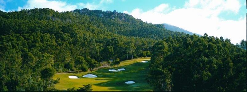 Ponorama du golf de Penha Longa au Portugal