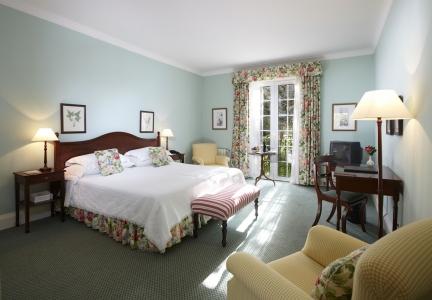 Une chambre de l'hôtel Casa Velha.
