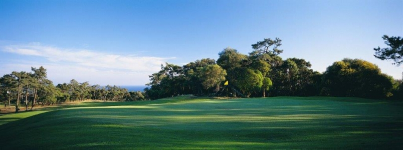 panorama du golf do estoril au Portugal