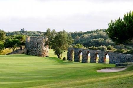 Pont du golf de Penha Longa au Portugal