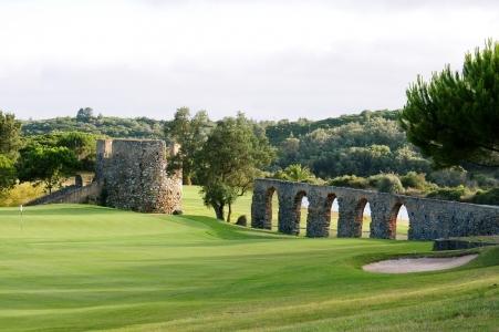 Le fairway du golf de Penha Longa.
