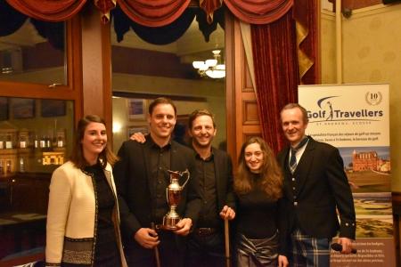 Remise des prix Trophée Golf Travellers