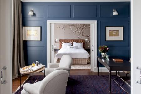 Une chambre double de l'hôtel Vidago.