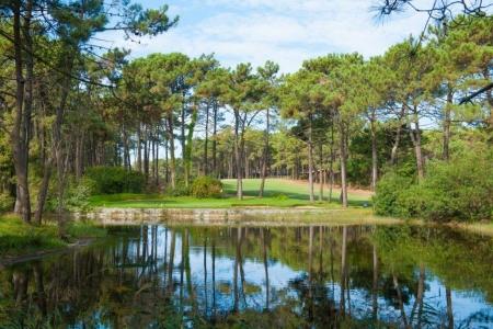 L'étang du golf d'Aroeira n°1 au Portugal