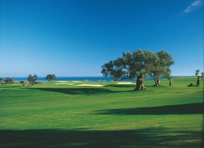 Un fairway du golf de Quinta da RIa.