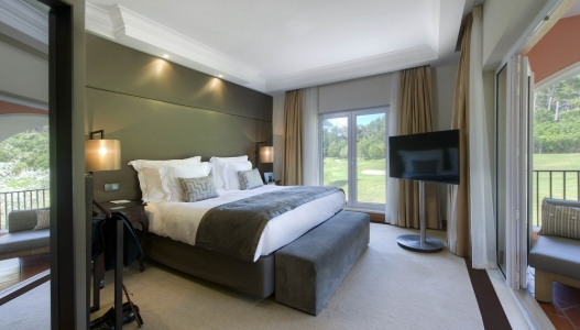 Une chambre double du Penha Longa Resort.