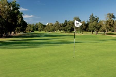 Drapeau blanc du golf de Penina Championship au Portugal