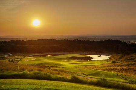 Panorama du golf Royal Obidos au Portugal