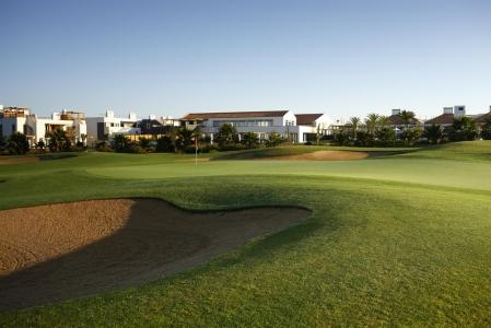 Un bunker du golf de Quinta da RIa.
