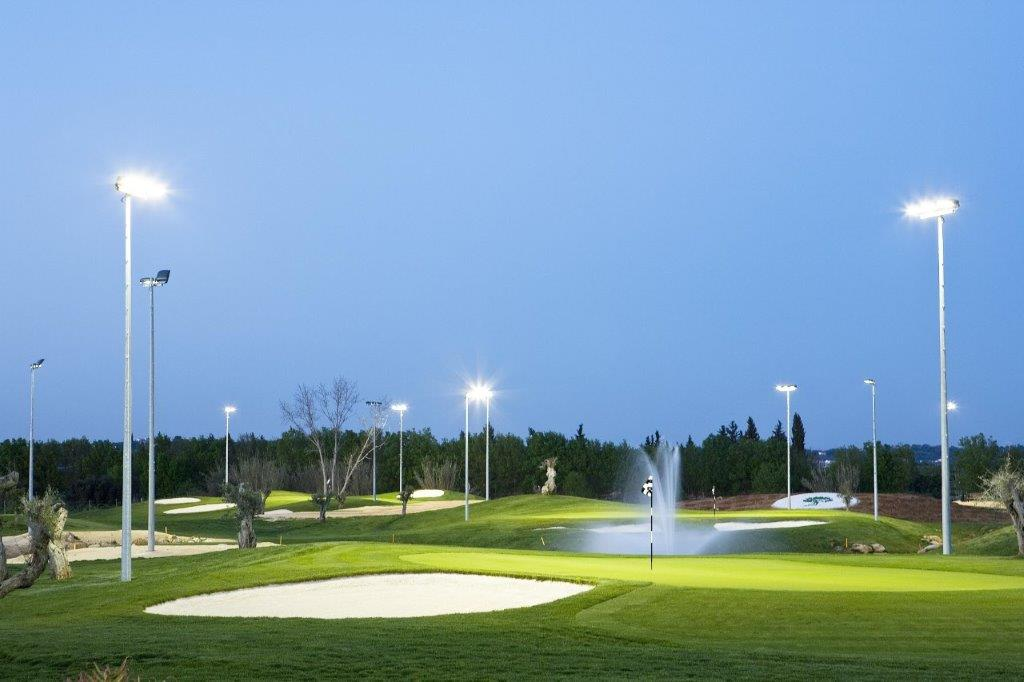 Pratice du golf d'Oceanico  au Portugal