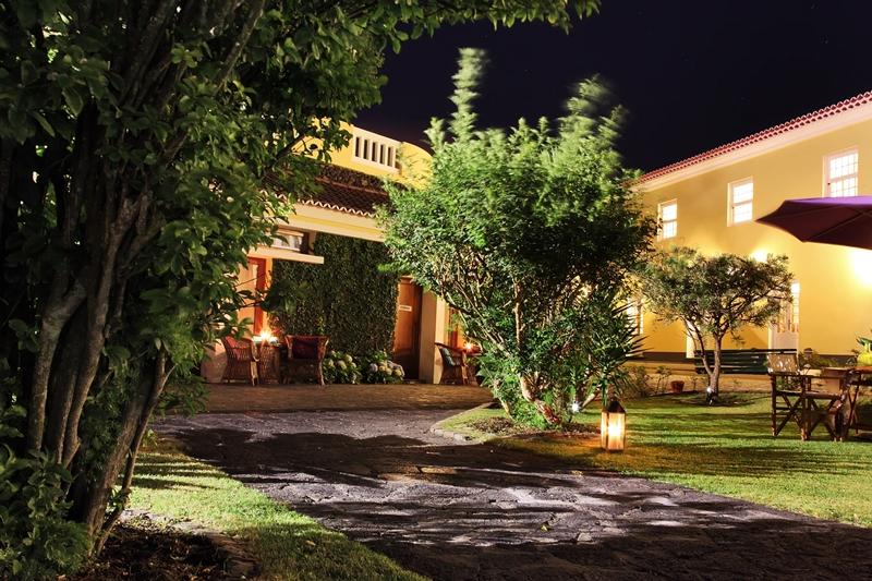 Vue exterieure de l'hôtel Quinta Abelheira